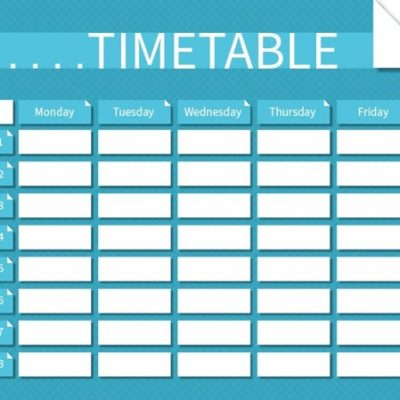 Pool timetable 24th Feb-1st March
