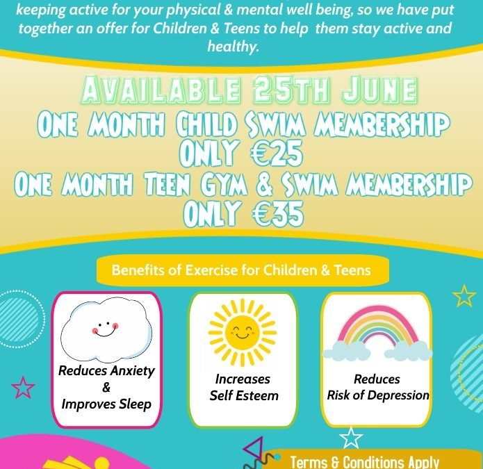 Children & Teen Offer – One Day Only